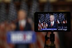Democratic presidential candidate, former Vice President Joe Biden is recorded as he speaks in Philadelphia, Tuesday, June 2, 2020.