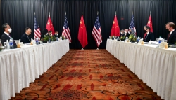 U.S. and Chinese officials in Alaska