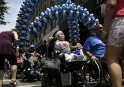 the inaugural disability pride parade