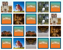 Online matching game from the state Department of Tourism