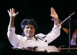 Little Richard performs at Westbury Music Fair in Westbury, NY, Thursday, Aug. 19, 2004.