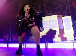 Musical artist Lizzo performs at The Hollywood Palladium