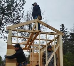 Menīkānaehkem-Menominee Community Rebuilders tiny homes