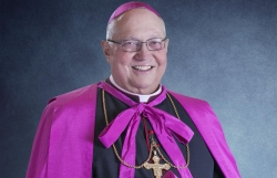 Bishop Robert Morlino in an undated photo, he passed away Saturday, Nov. 24 at 71 of an apparent heart attack at St. Mary's Hospital in Madison.