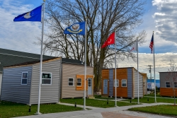 The James A. Peterson Veteran Village in Racine, WI.