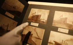 titanic photos ship food sink history