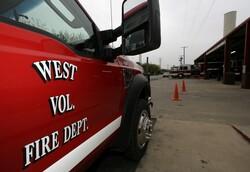 Volunteer fire truck