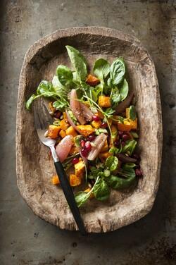 Winter Salad Maple Syrup Sweet Nature Cookbook