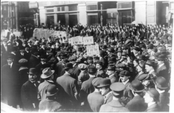 Industrial Workers of the World demonstration in 1914