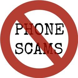No phone scams