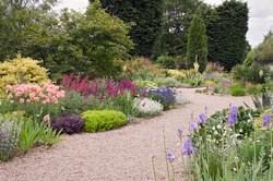 Gravel garden in England.