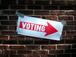 Poll sign