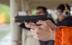 Gun fires at a shooting range