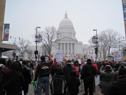 Wisconsin Capitol Protests