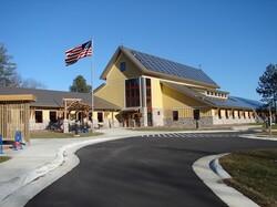 solar panels on Necedah National Wildlife Refuge