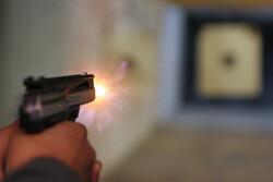 Shooting at a target