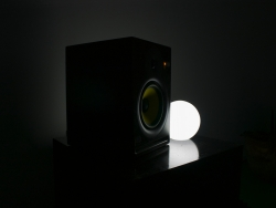 Speaker and light