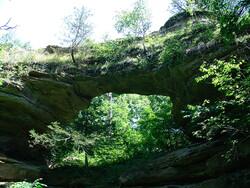 Natural Bridge State Park, WI