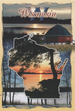 Wisconsin map cover
