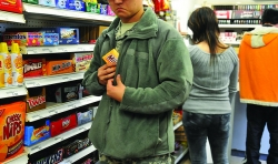 shoplifting