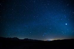 Venus and the night sky