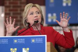 Hillary Clinton in West Des Moines, Iowa