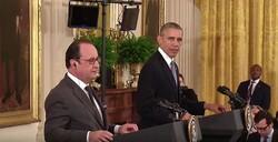 Francois Hollande and Barack Obama