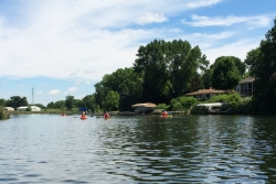 Kayaking Yahara River