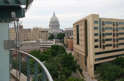 Madison cityscape, Keith Ewing (CC-BY-NC)