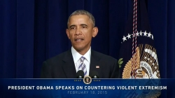 President Barack Obama speaks at the Summit on Countering Violent Extremism