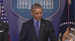 President Obama comments on the Charleston, South Carolina shooting