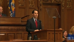 Gov. Scott Walker delivers his 2014 State of the State address