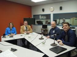 Vicki Markussen, Tim Kabat, Charley Weeth and Andy Winga