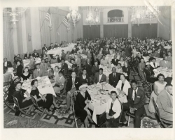 Diners at the NAACP Milwaukee Branch's 1958 Annual Dinner
