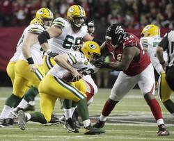 Green Bay Packers and Atlanta Falcons