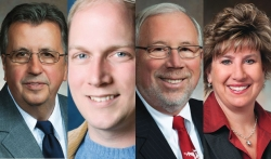 Reps. Tod Ohnstad and Nick Milroy, Sens. Luther Olsen and Jennifer Shilling