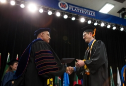 UW-Platteville graduation ceremony