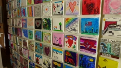 La Crosse Compassion Project artwork is on display at the Pump House until June 28.