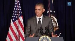 President Obama speaks on humanitarian crisis