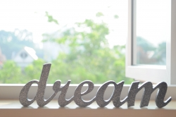 """Sign That Reads """"Dream"""""""