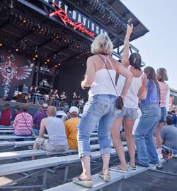Fans at Summerfest