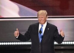 Donald Trump at 2016 Republican National Convention
