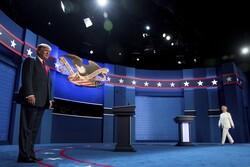 Donald Trump and Hillary Clinton debate in Las Vegas