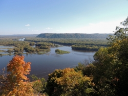 Mississippi and Wisconsin Rivers