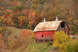 fall barn, photo by Michael Leland