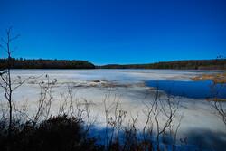 Wisconsin Frozen Lake