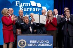 Donald Trump rural