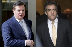 Paul Manafort and Michael Cohen declared guilty