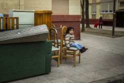 Evicted child