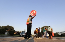 Crossing guard, Houston